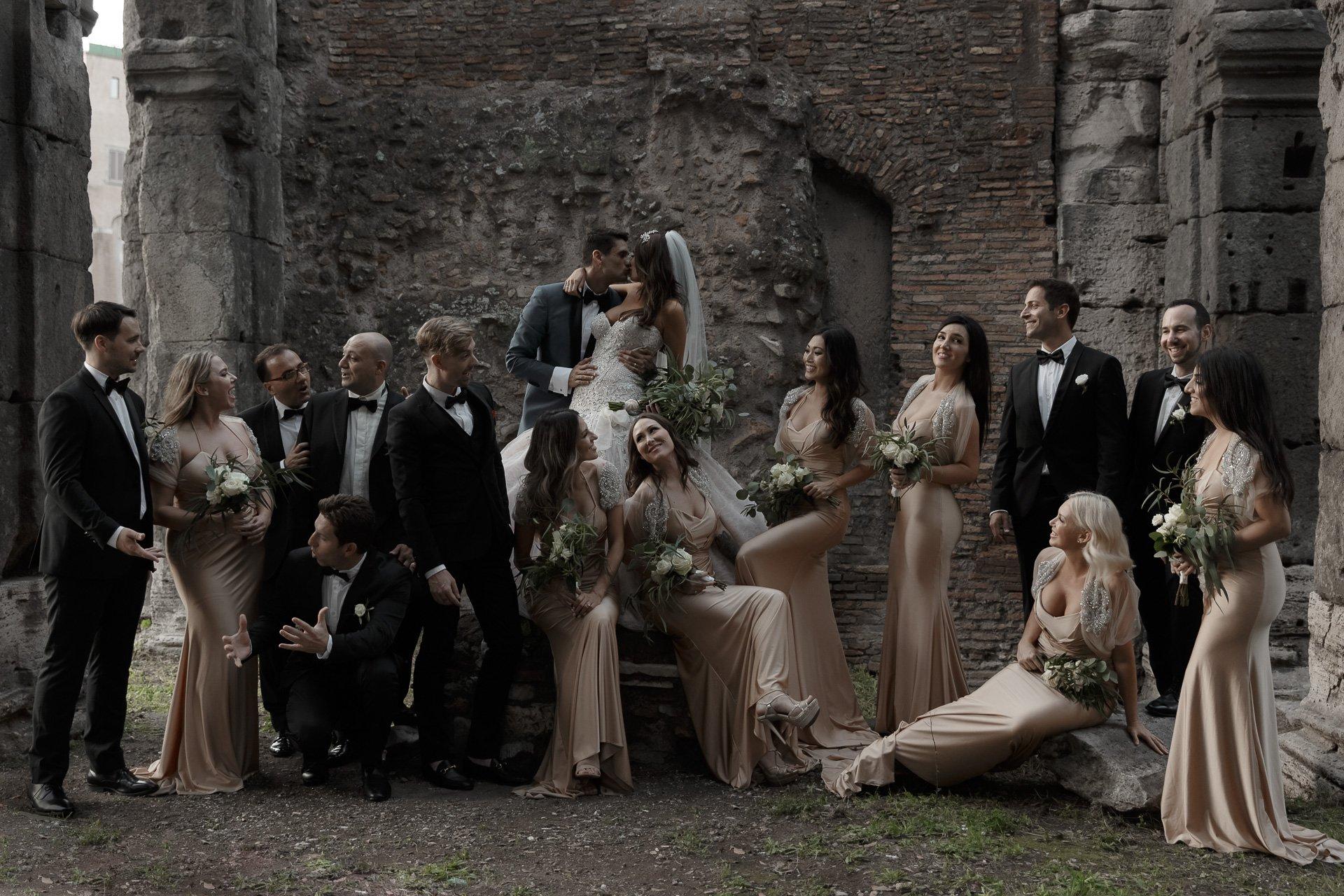 Matrimonio in Piazza Venezia – Roma