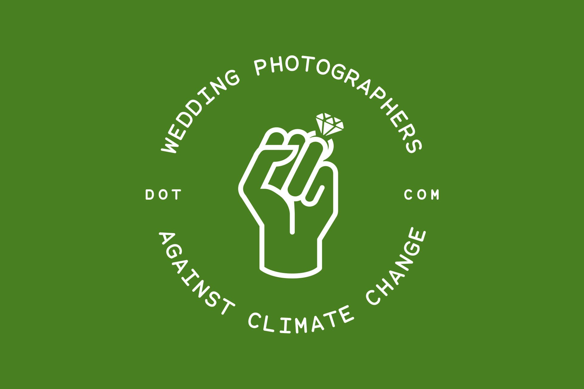 Wedding Photographers against Climate change