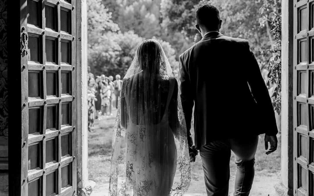 Wedding in San Pietro in Valle Abbey