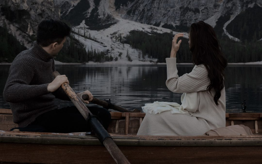 Lake Braies Engagement Session